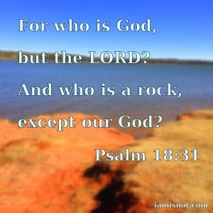 For who is God, but the LORD? And who is a rock, except our God? Psalm 18:31